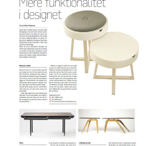 Ejendomsavisen funktionalitet stool table bord skammel