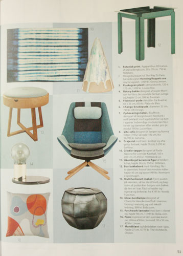 """""""Not just a table"""" in Femina Bolig"""