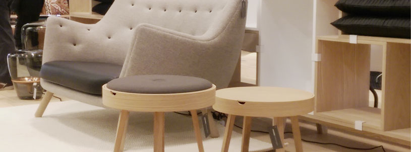 Nordic Function Not just a table som stol og bord billede fra Ingvard table and stool next to resting chair