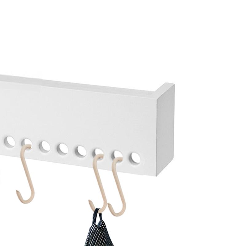 Nordic Function Upgrade s-kroge i læder til din entre eller soveværelset s-hooks for your entrance hall or bedroom