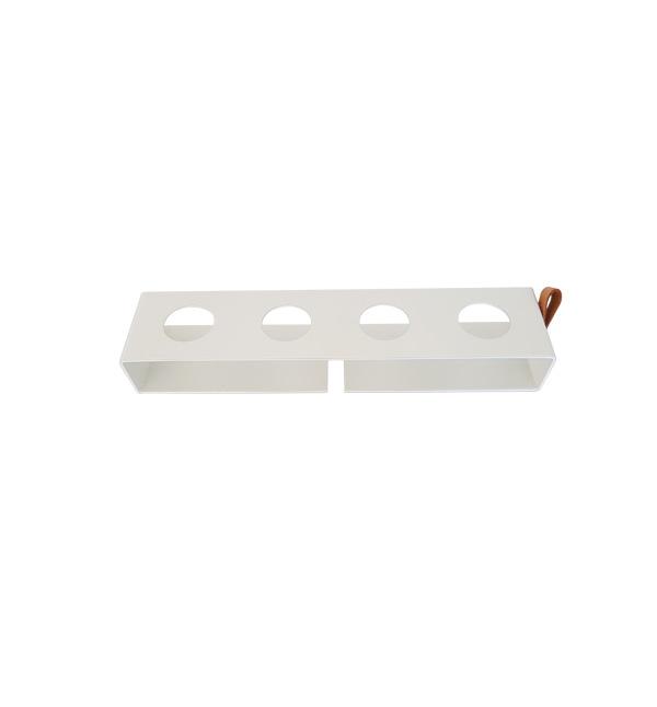 Nordic Function Simply4 vase lysestage krydderiholder knagerække hvid