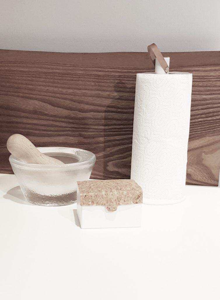 Nordic Function køkkenrulleholder første model paper towel holder white