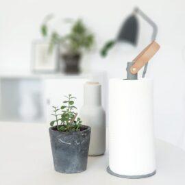 Nordic Function 2Grab køkkenrulleholder grå paper towel holder grey