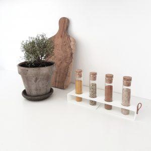 Nordic Function Simply4 krydderiholder hvid spice rack