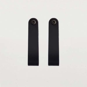 Nordic Function HangON sorte læderstropper til ophæng leather straps