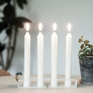 Nordic Function Simply4 lysestage og vase candlestick and vase