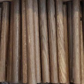Nordic Function Add More bøjlestang røget eg egetræ smoked oak coat rack beautiful oak wardrobe entrance hall